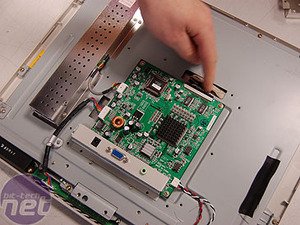 How CRT and LCD monitors work LCD disassembly