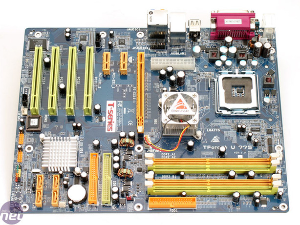 Biostar TForce4 U 775 The Board