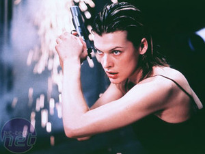 Project: Resident Evil T-Virus - what better reason for a pic of Milla Jovovich?