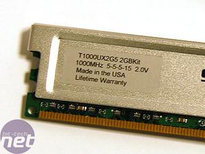 SuperTalent T1000UX2G5 DDR2 memory SuperTalent DDR2 memory kit