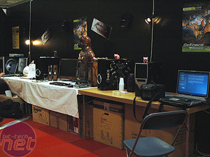 DreamHack Summer 2006 report Setting up