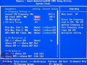 nForce 590 SLI: Foxconn C51XEM2AA BIOS, Overclocking & Stability
