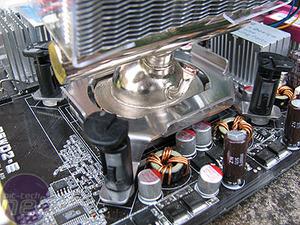 Conroe heatsink group test Asetek VapoChill Micro Extreme