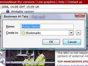 Internet Explorer 7 v Firefox 2.0 Tabs