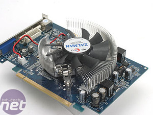 Galaxy GeForce 7300 GT with GDDR3 The card