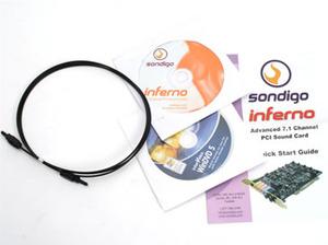 Sondigo Inferno 7.1 PCI Soundcard Sondigo Inferno 7.1