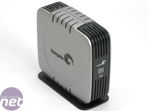 Seagate 500GB eSATA External HDD Bundle & Test Setup
