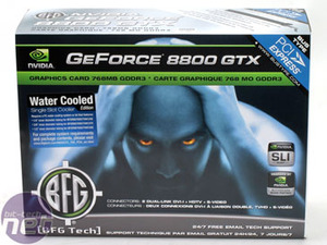 BFGTech 8800 GTX Watercooled Edition Introduction
