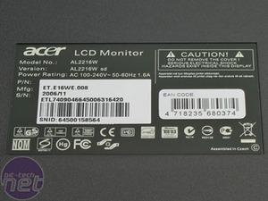 Acer AL2216w 22