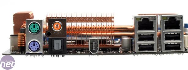 Asus P5N32-E SLI Plus BIOS & Rear I/O