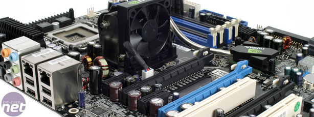 Inno3D nForce 680i SLI Board Layout