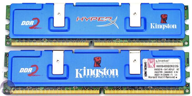 Kingston vs OCZ DDR2-800MHz Memory Kingston HyperX PC6400