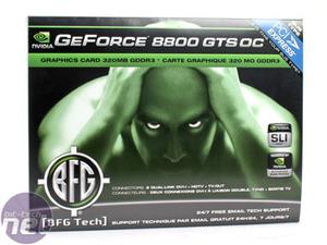 NVIDIA GeForce 8800 GTS 320MB BFGTech GeForce 8800 GTS OC 320MB