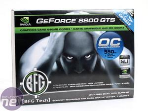 GeForce 8800 series round-up BFGTech GeForce 8800 GTS OC 640MB