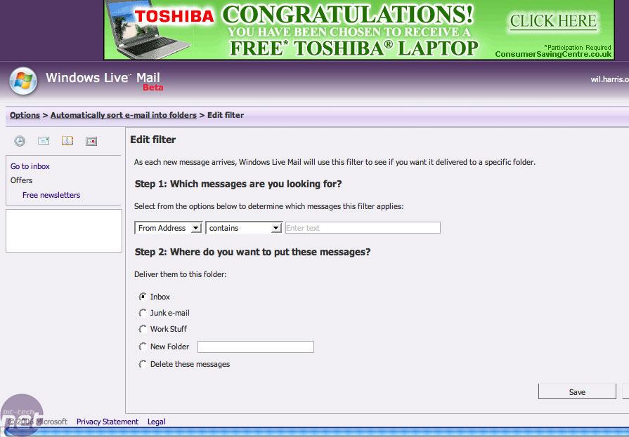 The best webmail services | bit-tech.net