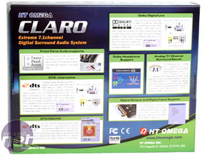 HT Omega Claro soundcard Introduction