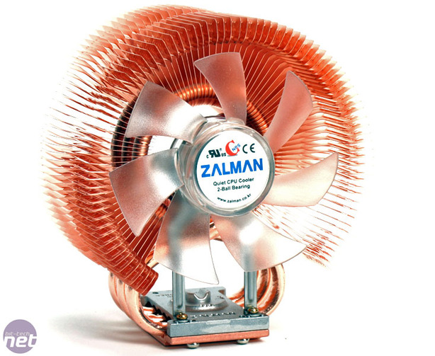 Zalman cnps9500-led heatsink fan - sleeved