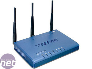 Wireless router group test TrendNet TEW-631BRP