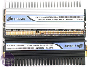 First Look: Corsair CM3X1024-1333C9DHX Introduction to Corsair's DDR3