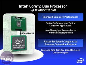 Intel Santa Rosa mobile platform Santa Rosa brings new Meroms