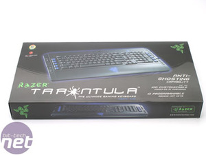 Gaming keyboard head-to-head Razer Tarantula