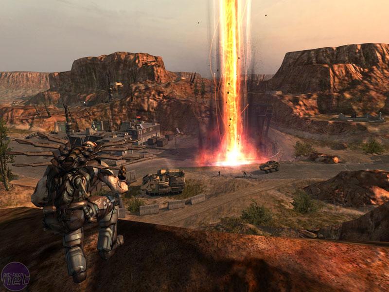 Preview - Enemy Territory: Quake Wars preview | bit-gamer.net
