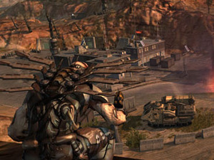 Enemy Territory: Quake Wars preview Enemy Territory: Quake Wars
