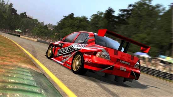 Forza Motorsport 2 At the wheel