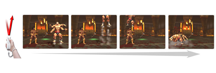 Mortal Kombat: Armageddon on the Wii Kontrols