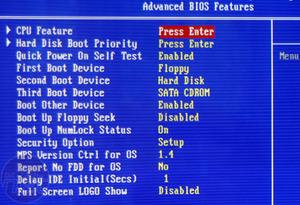 Abit IP35 Pro Rear I/O & BIOS