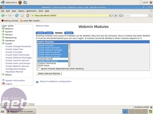 Build your own server: Part 2 Using Webmin
