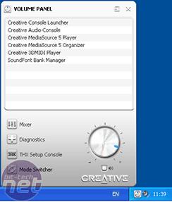 Creative X-Fi XtremeGamer Software