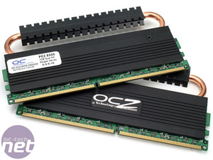 OCZ DDR2 memory group test OCZ DDR2 PC2-8500 Reaper HPC Edition