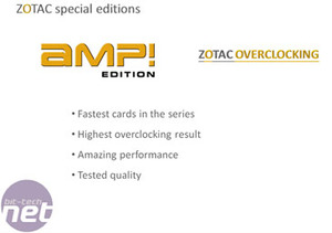 Zotac GeForce 8800 GTX AMP! Edition Introduction to Zotac