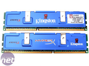 DDR3: Kingston and OCZ at 1333MHz Kingston HyperX KHX11000D3LLK2/2G