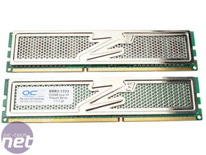 DDR3: Kingston and OCZ at 1333MHz OCZ DDR3 PC3-10666 Platinum Edition