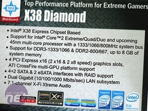 MSI X38 Diamond preview MSI X38 Diamond