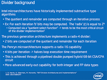 Intel Core 2 Extreme QX9650 Architecture Enhancements - 1