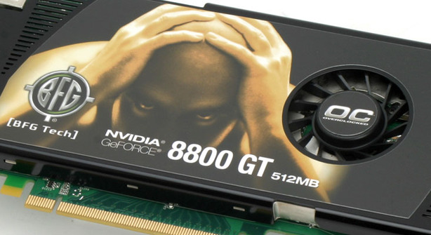 BFG Tech GeForce 8800 GT OC 512MB Test Setup