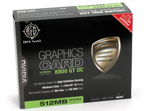 BFG Tech GeForce 8800 GT OC 512MB