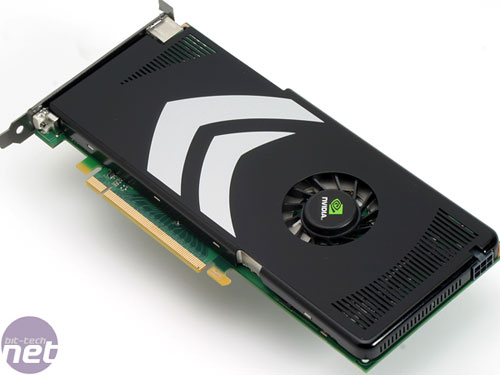 Nvidia's GeForce 8800 GT 512MB reference card in all its glory...