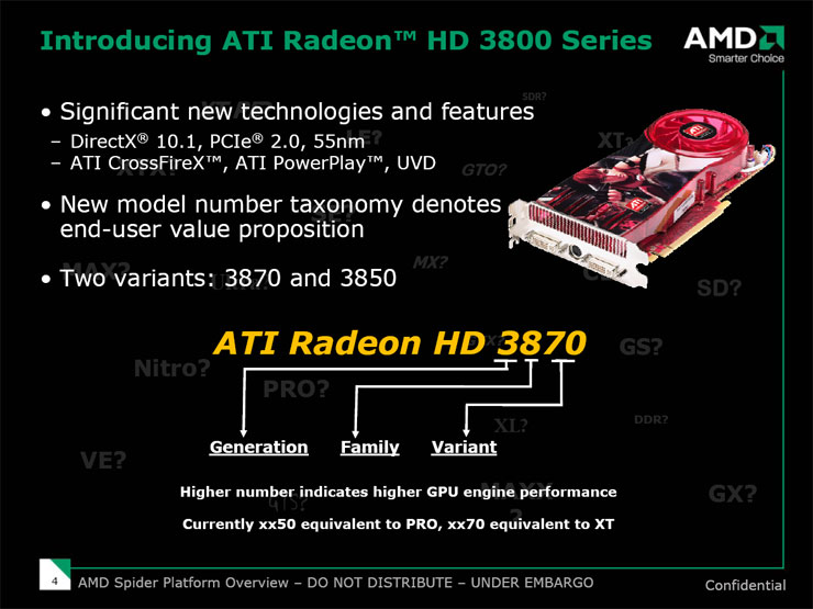 RV670: AMD ATI Radeon HD 3870 An end to Alphabet Soup