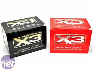 Ultra X3 600W & 1,000W PSUs Ultra X3 PSUs