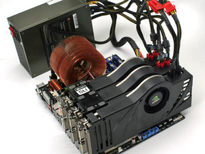First Look: Nvidia 3-way SLI on nForce 680i Ménage à trois – why?