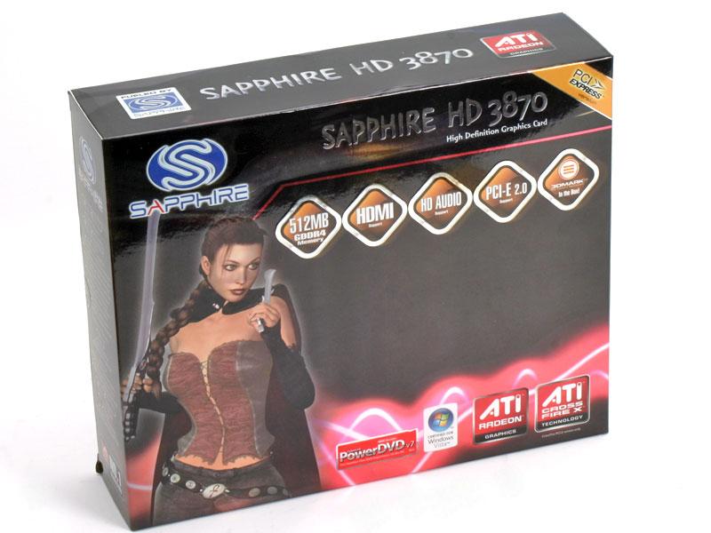 Sapphire Radeon HD 3870 512MB