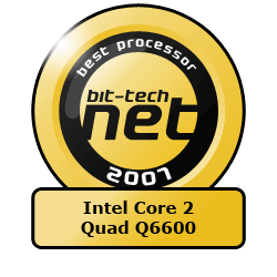The bit-tech Hardware Awards 2007 Best CPU