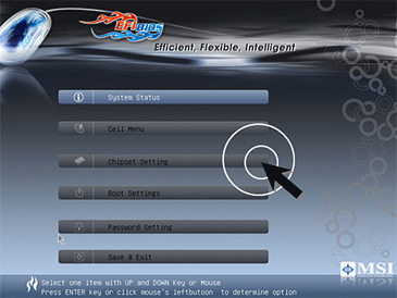 First Look: Extensible Firmware Interface MSI trials EFI