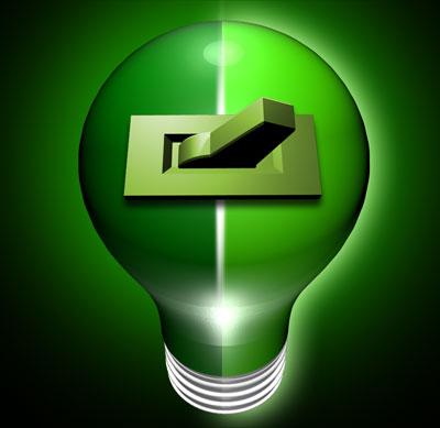 Nvidia's HybridPower Logo