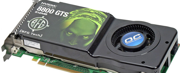 BFG Tech GeForce 8800 GTS OC 512MB Test Setup