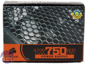 Corsair TX750W PSU Corsair TX750W Power Supply